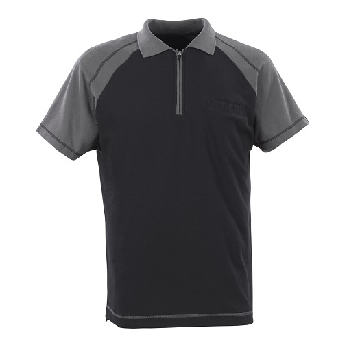 Bianco Polo Shirt Black / Anthracite Small