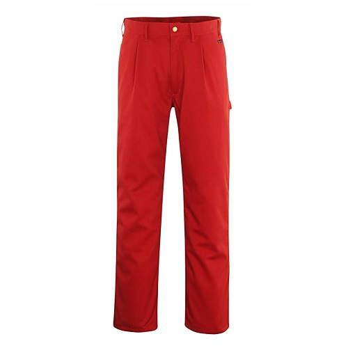 "Montana Work Trousers 82C48 Red 30.5"" Short"
