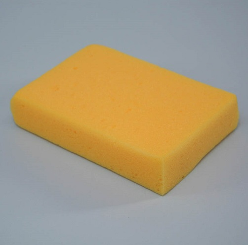 Large Car Sponge Yellow Approx 17 x 12 x 4 cm