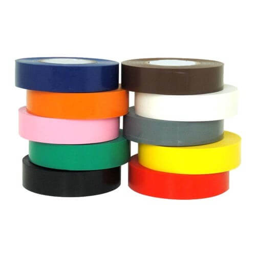 PVC Electrical Insulation Tape 19mm x 33m Black Single Roll