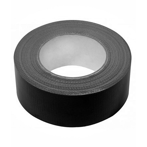 PVC Electrical Insulation Tape 50mm x 33m Black Single Roll