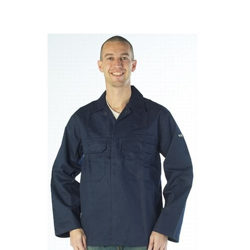 Warrior Navy Flame Retardent Jacket Navy Large