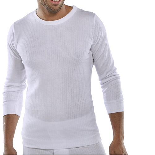 Thermal Vest Long Sleeved White XX Large
