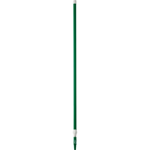 Aluminium Telescopic Handle 1575 - 2780 mm 32 mm Green