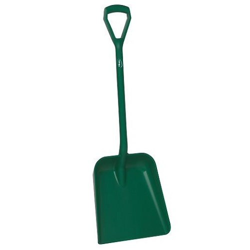 One Piece Shovel D Grip Shovel 103 cm Handle Green