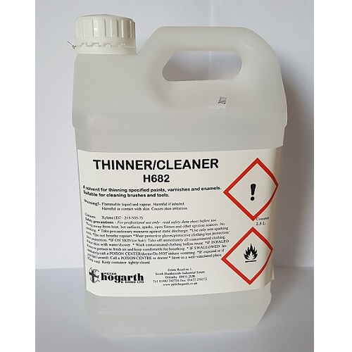Xylene Thinners 682 2.5 litres