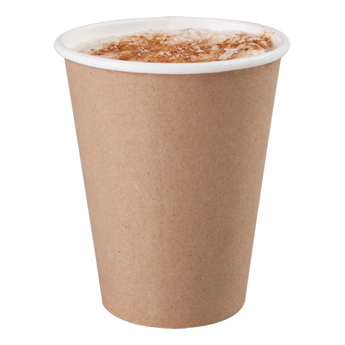 Kraft Compostable Paper Cup 350 ml 12 oz 1000's