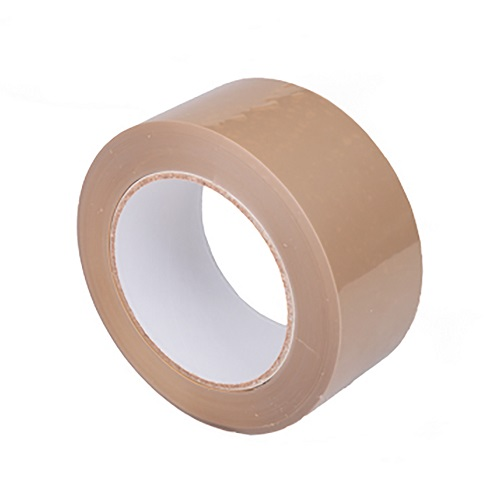 Tan Vinyl Tape 50mm x 66m Single Roll