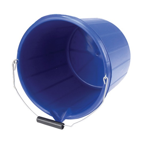 Heavy Duty Lipped Bucket Blue 15 litre