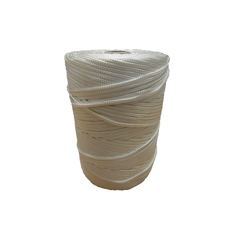 Nylon Braided Twine White 1 kg Approx 290 m