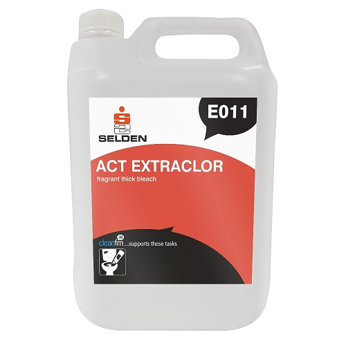 Act Extraclor Fragrant Thick Bleach E011 5 litres