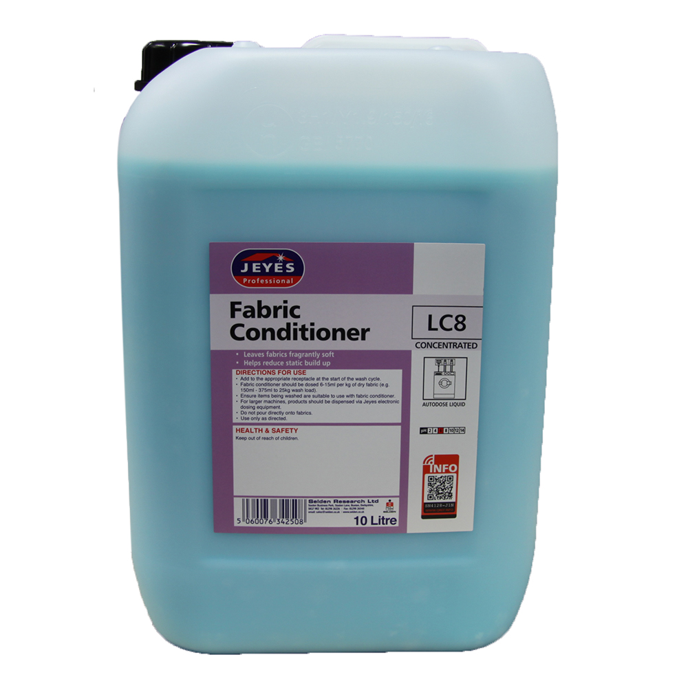 Jeyes LC8 Fabric Conditioner 10 litres