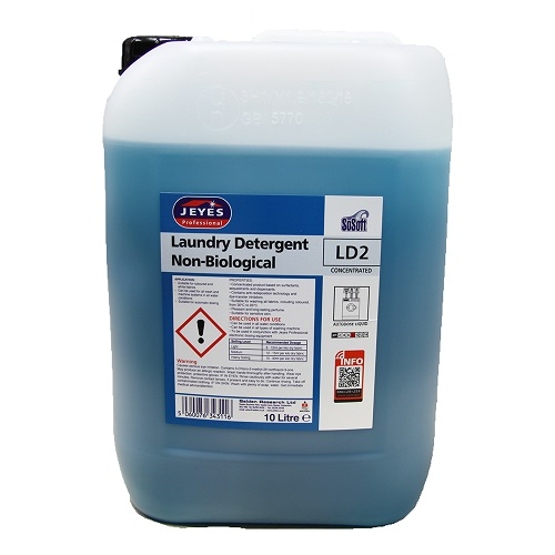 Jeyes LD2 Sosoft Non Bio Laundry Detergent 10 litres