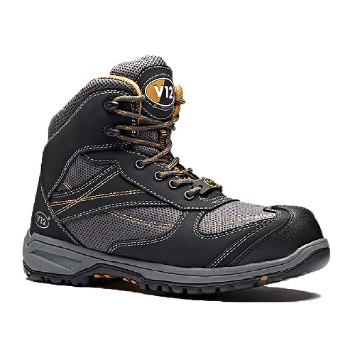 Torque IGS Womens Metal Free Hiker Grey Size 2