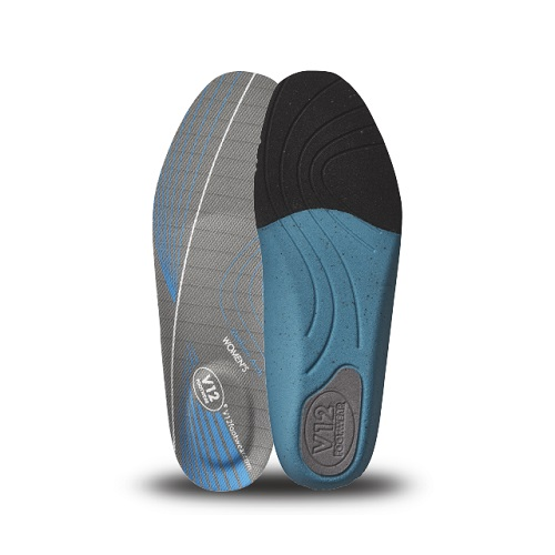 Womens Dynamic Arch Insoles Blue - Medium Arch Size 2
