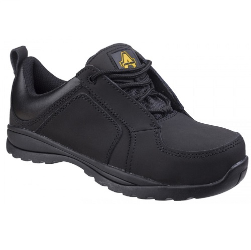 Amblers FS59C Ladies Safety Trainer S1-P-HRO Black Size 5