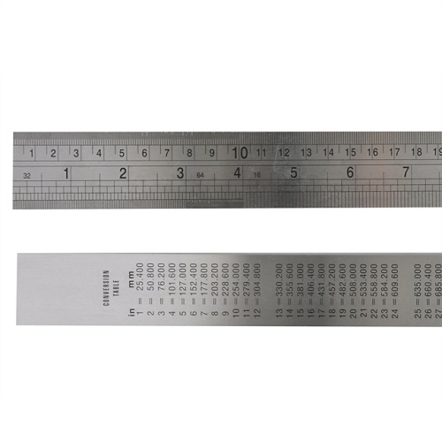 Steel Ruler 1 metre 39 inches Single
