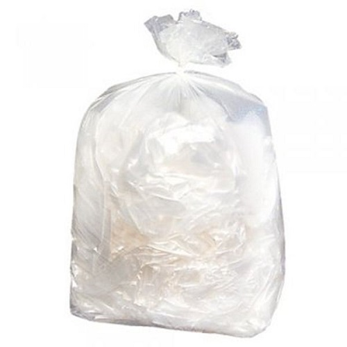 "Recycled Clear Compactor Sacks 22x34x47"" 300 Gauge 100's"