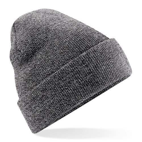 B45 Beechfield Cuffed Beanie Antique Grey