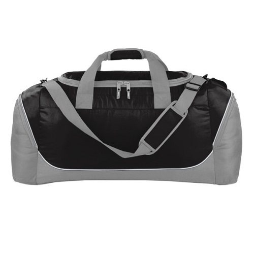 Jumbo Quadra Teamwear Holdall Black / Grey