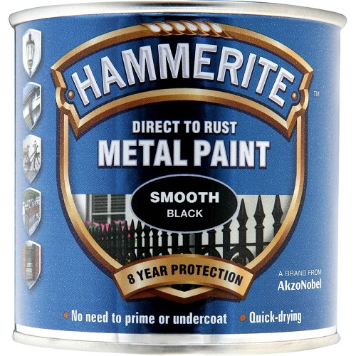 Hammerite Smooth Black 750 ml