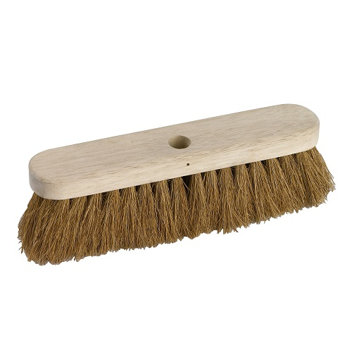 "Natural Coco Broom 11.5"" Soft 290 mm"