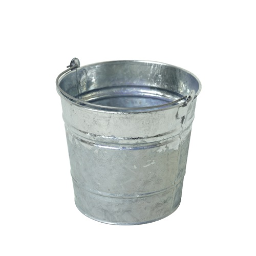"Galvanised Mop Bucket 12"" Seamed"