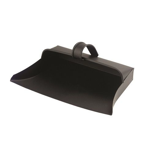 Metal Enclosed Dustpan with Painted Metal Finish
