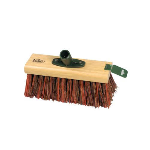 "Bassine Broom 9.5"" 254 mm Red Medium Stiff"