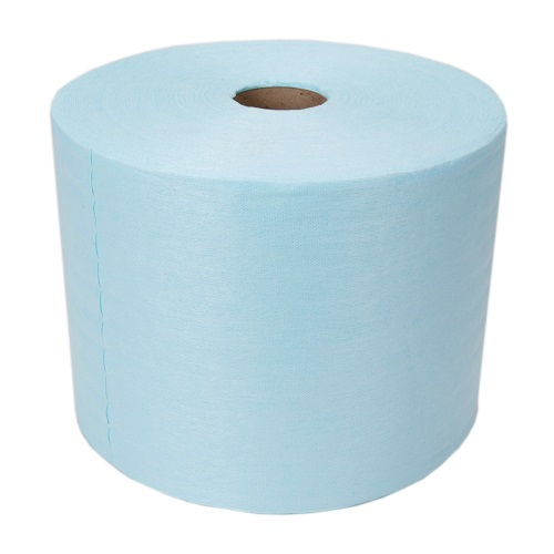Sontara Creped Roll Blue 2 Rolls x 400 Sheets