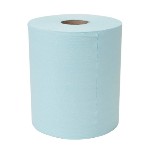 Sontara Creped Roll Turquoise 2 Rolls x 350 Sheets