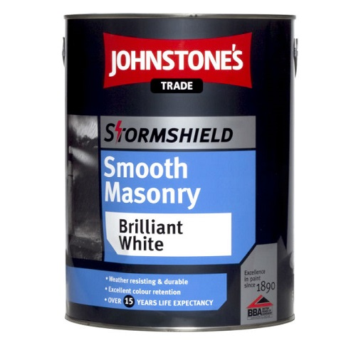 Stormshield Smooth Masonry Paint Brilliant White 2.5 litres