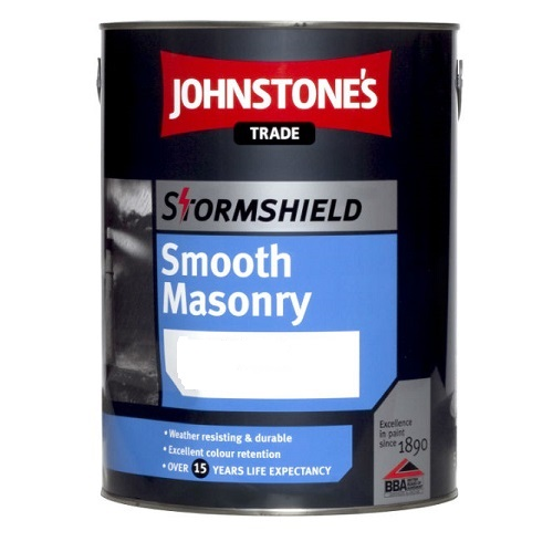 Stormshield Smooth Masonry Paint Black 5 litres