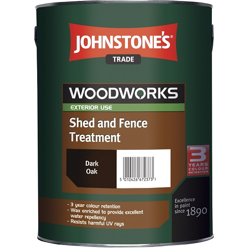 Shed and Fence Treatment Dark Oak 5 litres