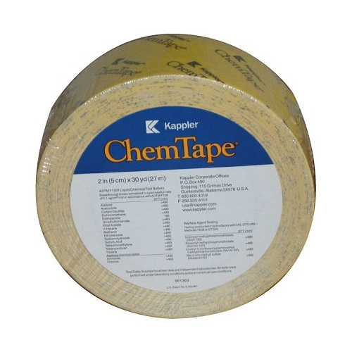 Chem-Tape® Special Tape 50mm x 54m Yellow Single Roll