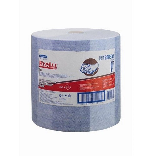 Wypall X90 White Cloths Single Large Roll 450 Sheets