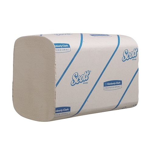 Scott XTRA Interfold Hand Towels White 1 Ply 4800's