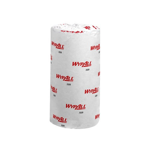 WypAll® L10 Food and Hygiene Wiping Compact Roll 1 Ply Blue 24's (To replace KC7285)