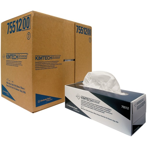 Kimtech Science Precision Wipes Pop-Up Box White Large 15 Boxes x 196's
