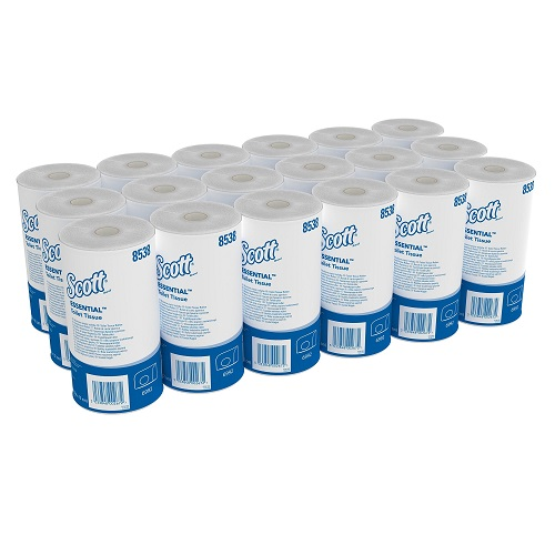 Scott Performance 320 Toilet Tissue Rolls White 2 Ply 36's