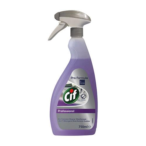 Cif Pro Formula 2 in 1 Cleaner Disinfectant 750 ml