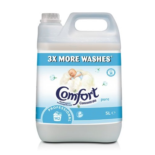 Comfort Professional Pure Concentrated Fabric Conditioner 5 litres