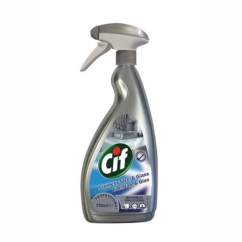 Cif Pro Formula Glass and Stainless Steel Cleaner 750 ml
