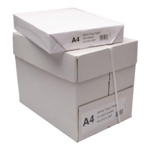 A4 Photo Copier Paper White 80 gsm Box of 5 Reams