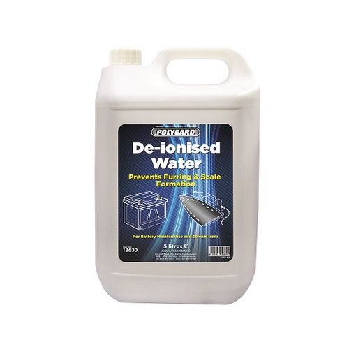De-ionised Distilled Water 5 litres
