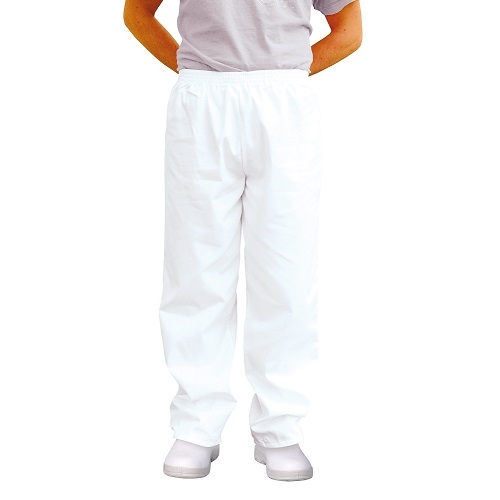 Baker Trousers 2208 White X Small