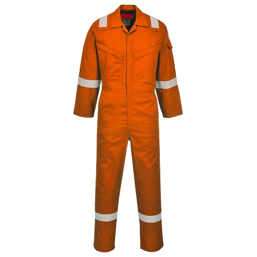 Portwest AF73 Araflame Silver Coverall Orange 42""