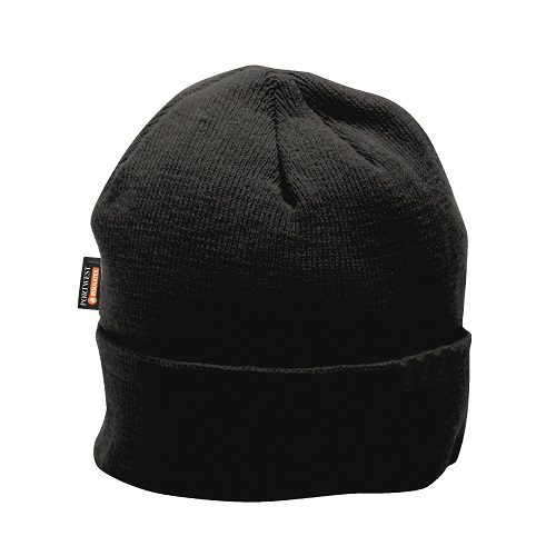 Portwest B013 Knit Cap InsulatexLined Black