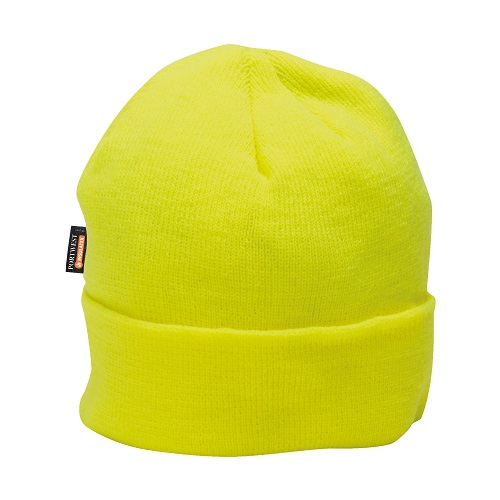 Portwest B013 Knit Cap InsulatexLined Yellow