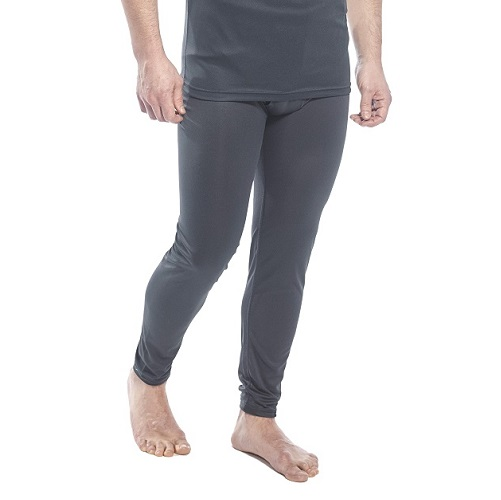 Portwest B131 Thermal Baselayer Leggings Black Small